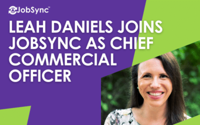 Leah Daniels Joins JobSync as Chief Commercial Officer